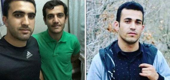 v.l.n.r:  Zanyar Moradi, Loghman Moradi, Ramin Hossein Panahi