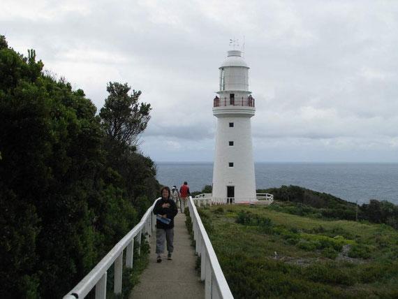 Ein alter Leuchtturm