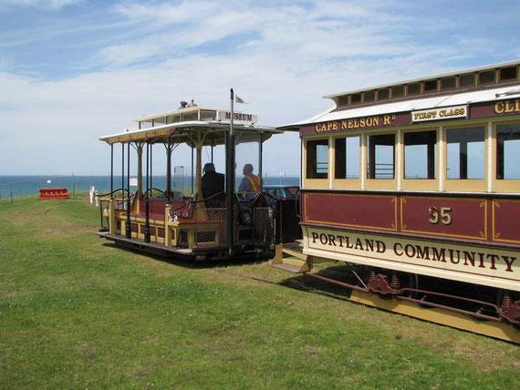 Eine alte Kabelbahn aus Melbourne