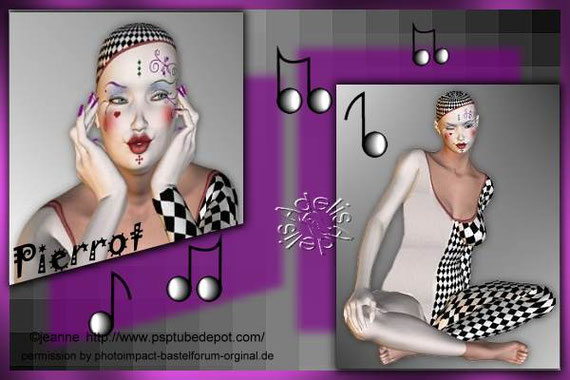Collage 11 Pierrot