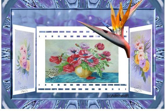 6.22 Eigene Bilder- Rand Sndflower -Kaleidoscope