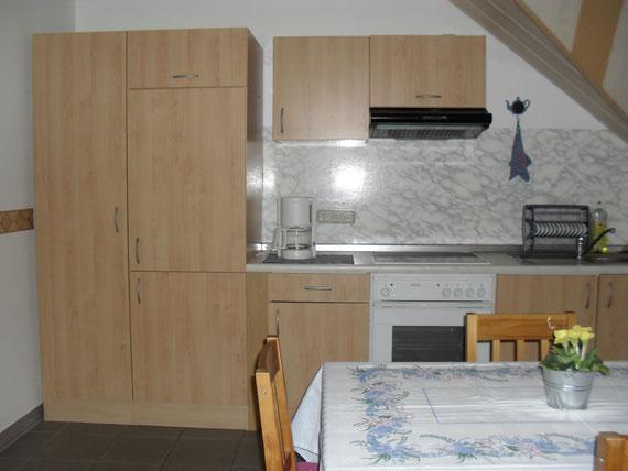 Ferienwohnung - Küche