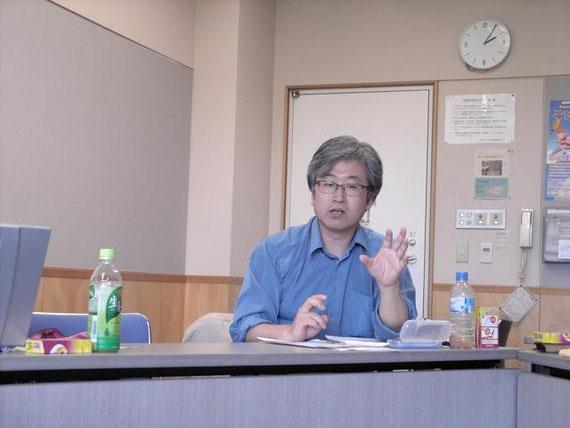 「平和運動:韓国の場合とその示唆」李大勲氏(Daehoon Lee)