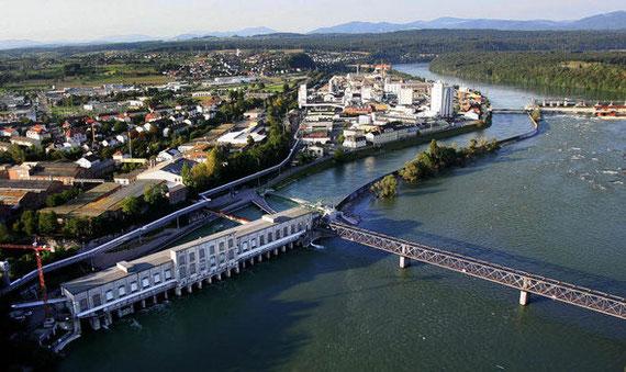 Flusswasserkraftwerk Europas.