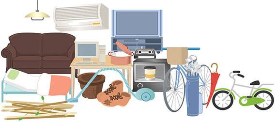 春日部 不用品処分 不用品回収 引っ越し不用品も即日対応可能!