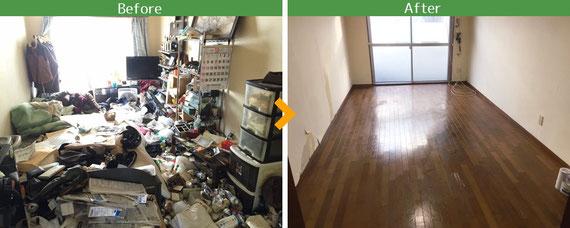 埼玉県 東京都 不用品回収 ゴミ屋敷片づけ 生前整理 遺品整理・エアコン無料回収・バイク無料処分