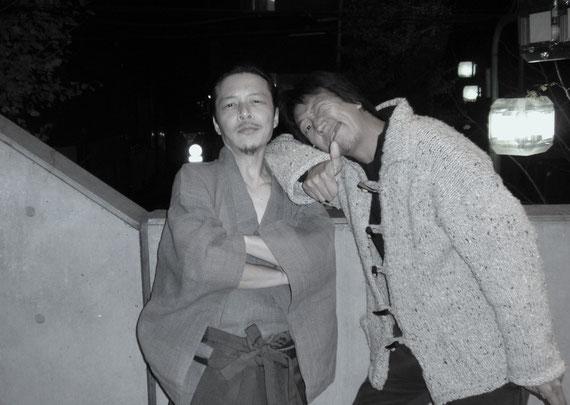 現代の幕末を駆ける二人の志士 尾崎と大村 なんてね