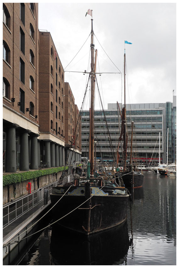 London - St. Katharine Docks