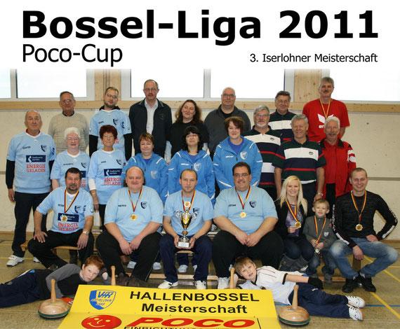 Abschluss der Meisterschaft 2011