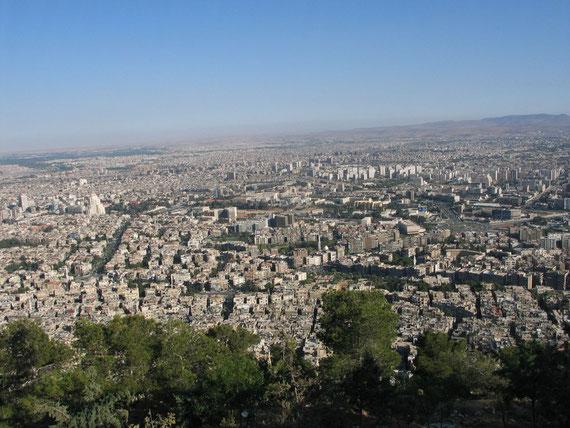 Vue du Mont Qassioum