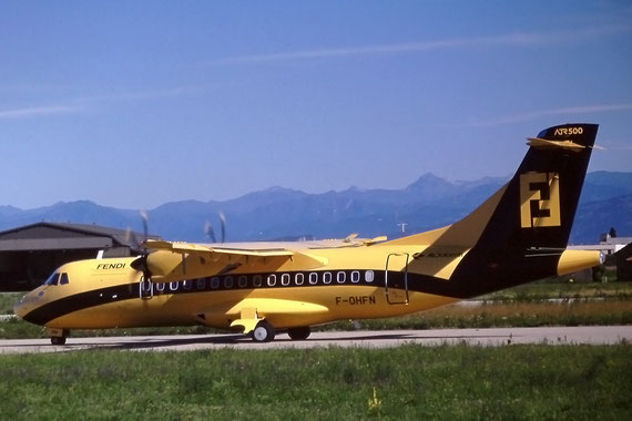 ATR 42-500 - F-OHFN - MSN 515 (in flotta EN dal 4/92 al 8/05)