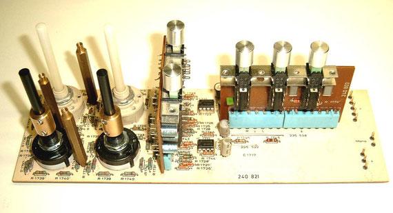 DUAL CV 1600 Klangregelplatine