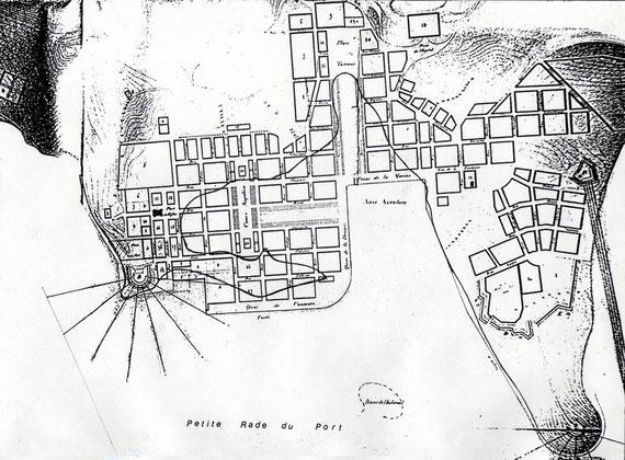 IV - PLAN TERRIER DE PORT-DE-FRANCE (Projet 1863)