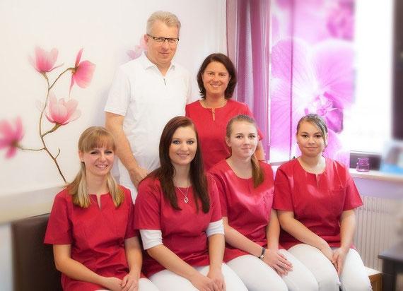 Praxisteam Dr. Johann Rauch, Zahnarzt in Weiden in der Oberpfalz