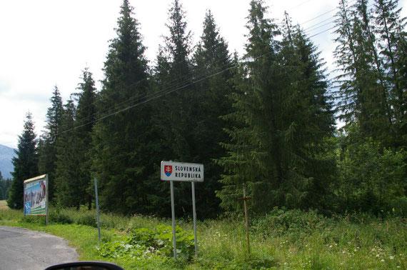 frontière slovaque