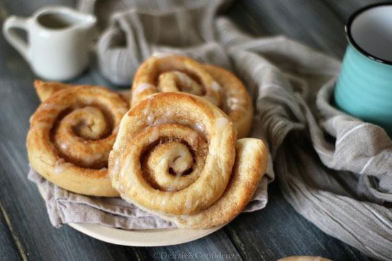 kanelsnegle - brioche dolce - cannella - dolce tipico - Copenaghe - Danimarca - pasticceria - ricetta