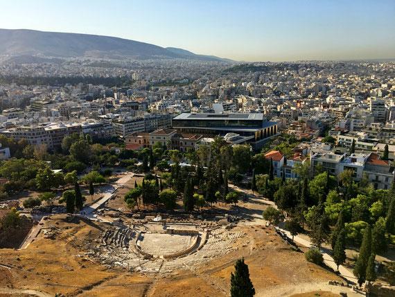Acropoli di Atene Museo Archeologico Nazionale Atene Grecia