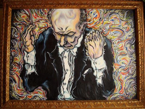 Maestro (フィナーレの直前) 80 x 110 cm   1999年