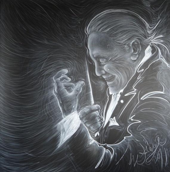 Requiem (レクイエム)  180 x 180cm 2011