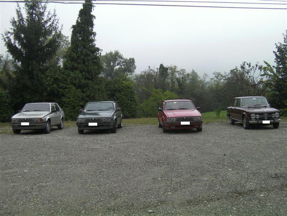 gita nel Monferrato. Quanta pioggia!