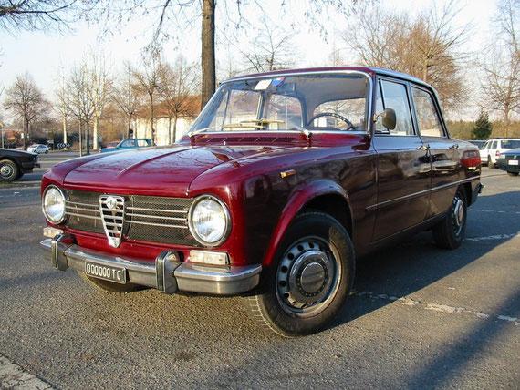 1300Super 1971 - la mia prima Alfa storica, e la mia prima Giulia...