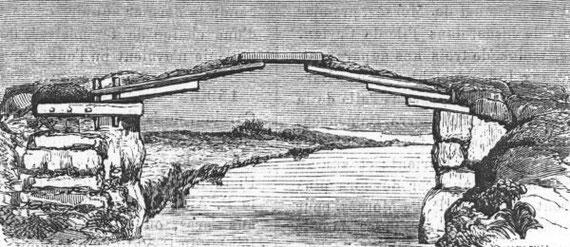 Desgodins (1826-1913), La mission du Thibet de 1855 à 1870. Ponts