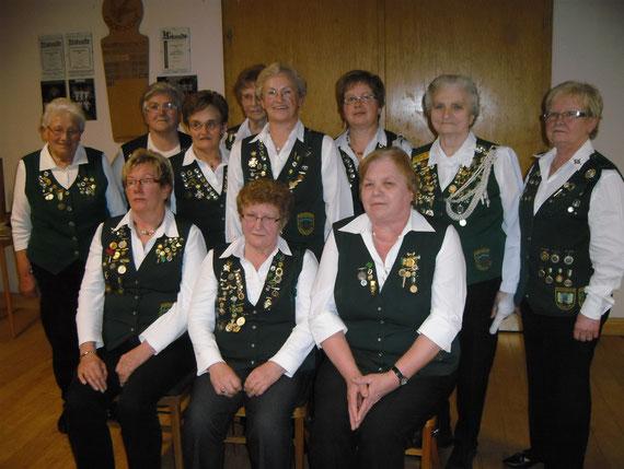 40 Jahre Damenabteilung - Gründungsmitglieder