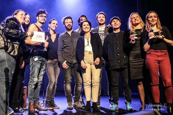 Séverine de Close à Drusenheim 1er prix auteur-compositeur-interprète Alsace
