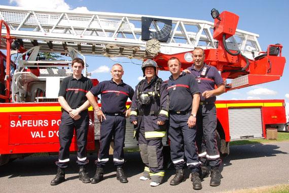 Photos en tenue de Pompier