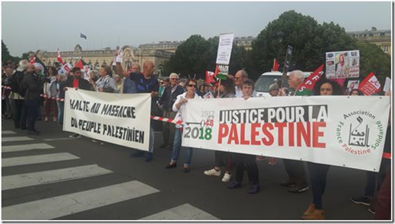 Manifestation à Paris le 5 juin contre l'arrivée de Benjamin Netanyahou