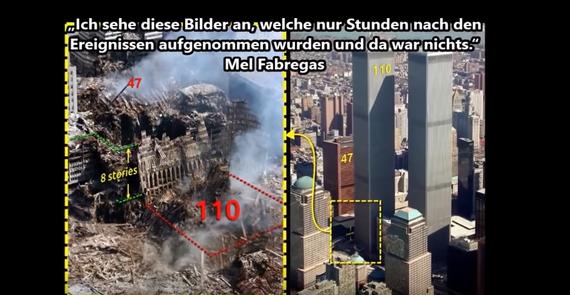 9/11 SKALARWAFFEN pulveresieren/ zerstäuben TWIN TOWERS zu Schutt