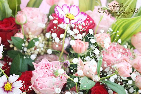 プロポーズ アンバサダーホテル ディズニー 花束 配達 オーダーフラワー シュシュ chouchou 舞浜花屋