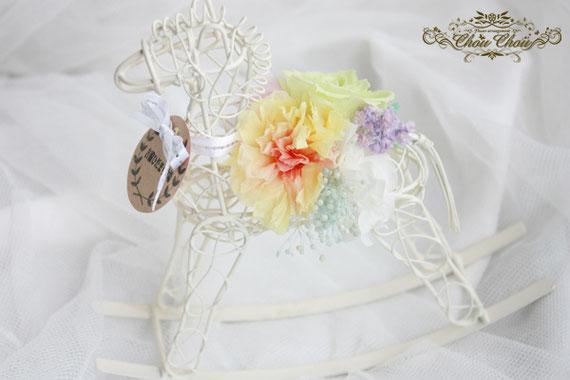 お祝い花 周年記念 馬 牧場 プリザーブドフラワー プレゼント 贈り物 オーダー