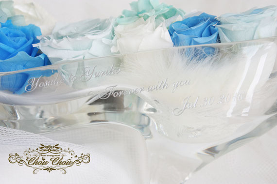 ガラスの靴 シンデレラ ガラス製 ディズニープロポーズ ミラコスタ 刻印 オーダー