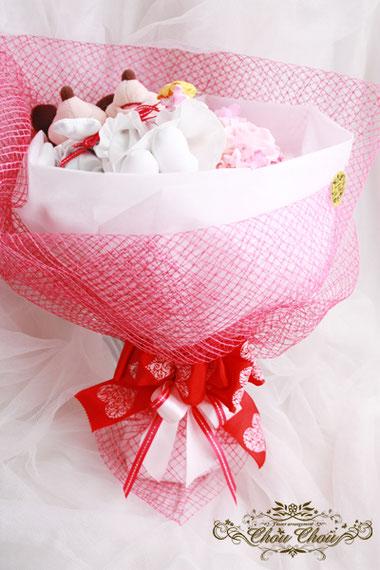 ディズニー プロポーズ 花束 薔薇 ウェディング ミッキー&ミニー プリザーブドフラワー