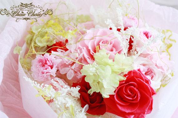 プロポーズ 花束 薔薇 プリザーブドフラワー 可愛い 花屋 舞浜 浦安 配達無料
