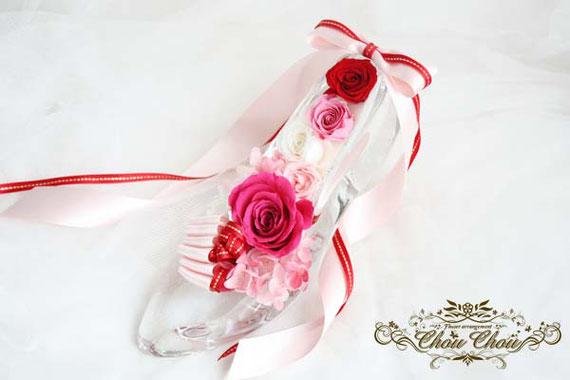 さいたまスーパーアリーナ 楽屋花 ガラスの靴 スタンド花 フラスタ  オーダーフラワー  祝い花 シュシュ chouchou