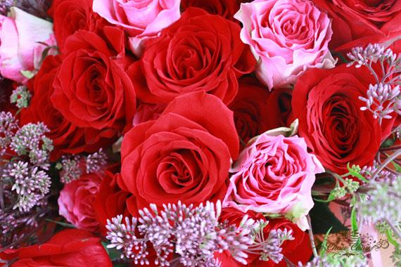 ディズニープロポーズ 花束 ミラコスタ 薔薇