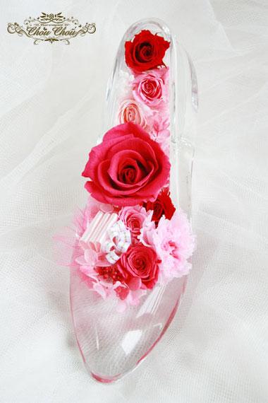 ガラスの靴 プロポーズ ディズニーランドホテル オーダーフラワー
