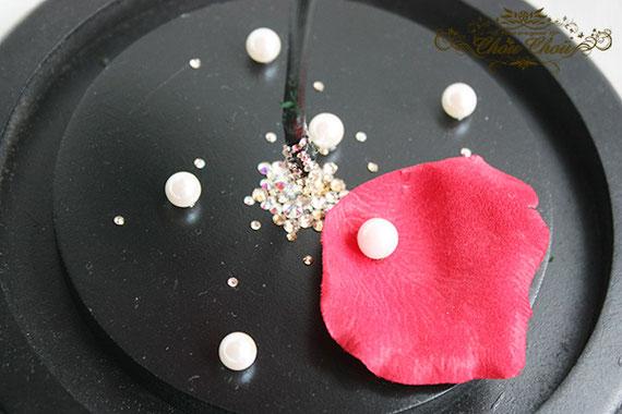 結婚祝い ウェディング 美女と野獣 一輪の薔薇 ガラスドーム  プリザーブドフラワー リングピロー スワロフスキー 刻印 パール