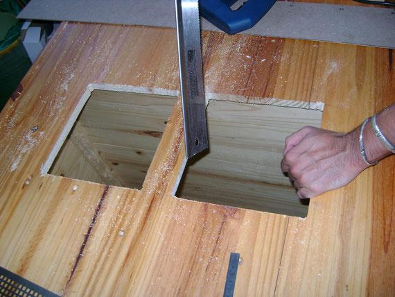 6: aération de l'étage du milieu