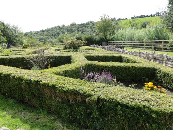 erwähnter Garten Tully Castle