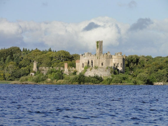 Castle Island im Lough Key - unsere Lieblingsinsel