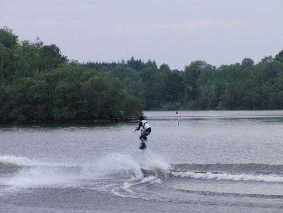 Wakeboarder bei Crevinishaughy