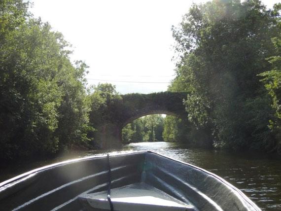 Brücke bei Haughton's Shore