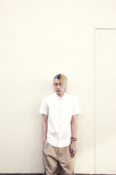 "/c COTTON WHITE SHIRT / STUDS WRISTBAND / SILVER RING ""TIGER CLAW"