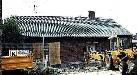 bild1: eingangsfassade vor dem umbau