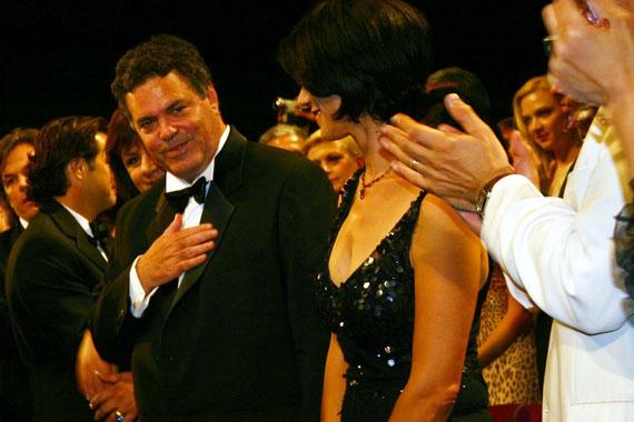 Amos GITAI  - Festival de Cannes  2005 © Anik COUBLE
