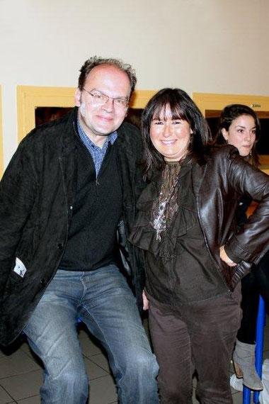 Jean-Pierre AMERIS et Anik COUBLE - Festival du film rhônalpin 2011 © Anik COUBLE
