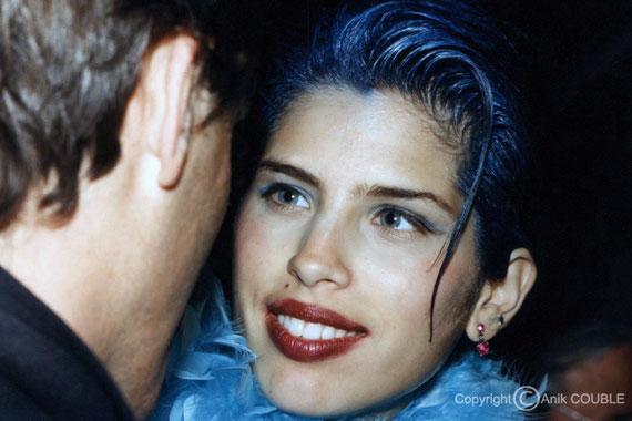 Maïwenn - Festival de Cannes 1997 © Anik COUBLE